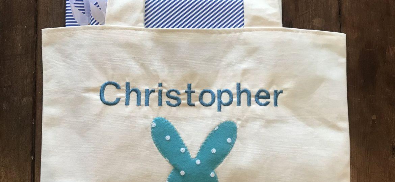 Bunny Bag with Books