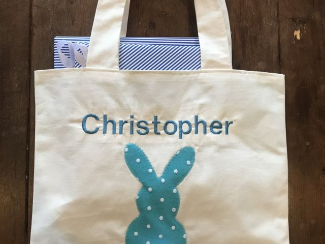 Bunny Bag with Books